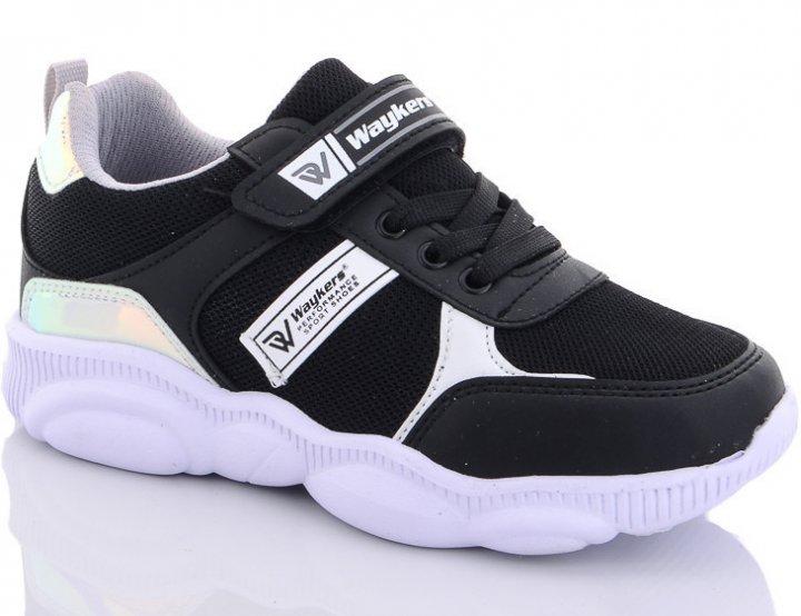 Кросівки Waykers d024-4 33 Чорний - зображення 1