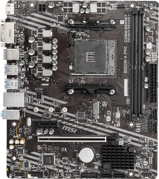 Материнская плата MSI B550M-A PRO (sAM4, AMD B550, PCI-Ex16) - изображение 1