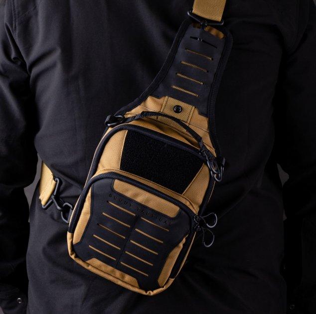 Тактическая сумка-кобура для скрытого ношения Scout Tactical EDC «Tac-box» Cyot-black - изображение 1