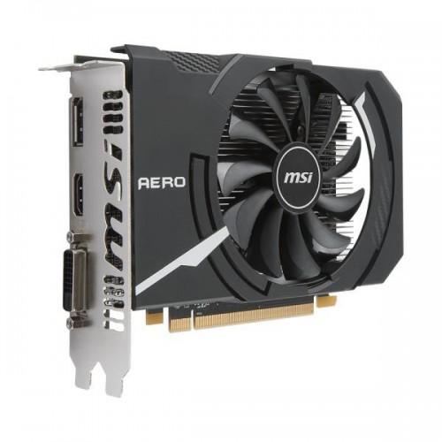 Msi Pci-Ex Radeon Rx 550 Aero Itx Oc 2Gb Gddr5 (128Bit) (1203/6000) (Dvi, Hdmi, Displayport) (Rx 550 Aero Itx 2G Oc) - изображение 1