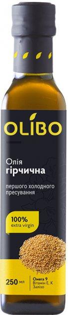Масло из семян горчицы Olibo 250 мл (4820184310094) - изображение 1