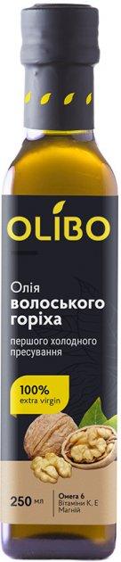 Масло из ядер грецкого ореха Olibo 250 мл (4820184310087) - изображение 1