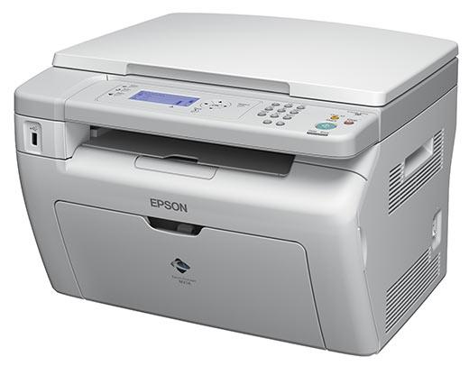МФУ Epson Aculaser MX14 (A4, лазерный, черно-белая, USB, 24000 стр.) Б/У - изображение 1