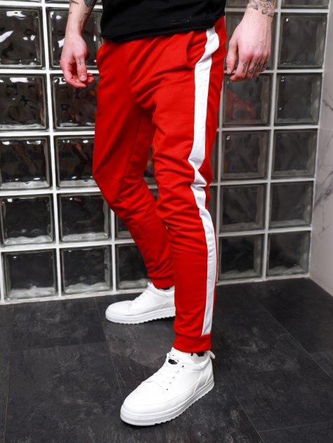 Мужские спортивные штаны Асос BD2356 рXS красные - изображение 1