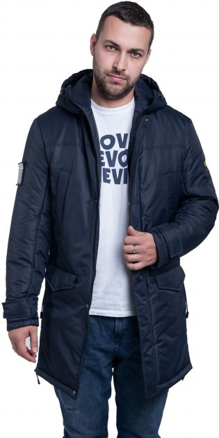 Куртка Riccardo Лонг 3 S (46) Синяя (ROZ6206101655) - изображение 1