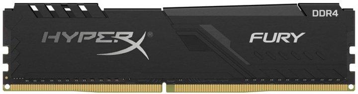 Оперативна пам'ять HyperX DDR4-3200 4096MB PC4-25600 Fury Black (HX432C16FB3/4) - зображення 1
