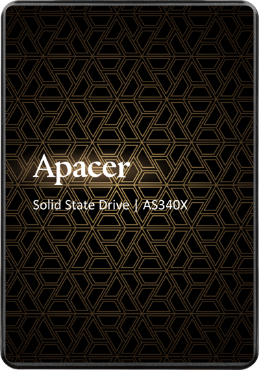 "Apacer AS340X 120GB 2.5"" SATAIII 3D NAND (AP120GAS340XC-1) - зображення 1"
