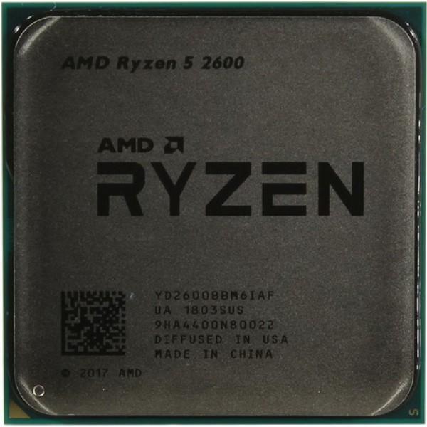 AMD Ryzen 5 2600 (3.4 GHz 16MB 65W AM4) Tray (YD2600BBM6IAF) - зображення 1