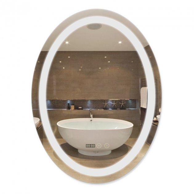 Дзеркало Qtap Mideya з антизапотіванням (DC-F805-1) 600х800 QT2078F8051W - зображення 1