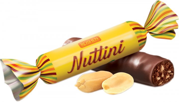 Конфеты глазированные Roshen Nuttini 1 кг (4823077627811) - изображение 1