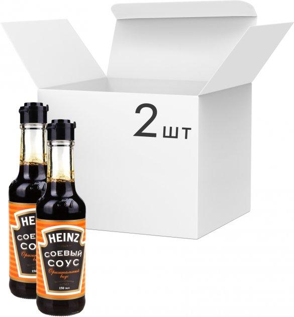 Упаковка соуса соевого Heinz 150 мл х 2 шт (1500015707202) - изображение 1
