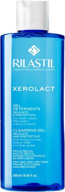 Гель для деликатной очистки кожи Rilastil Xerolact 250 мл (8050444856963) - изображение 1