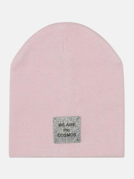 Демисезонная шапка Elf-kids Джади 48-50 см Розовая (ROZ6400046106) - изображение 1