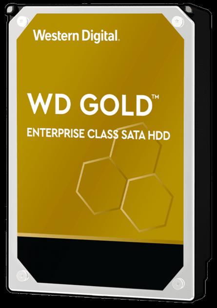 "Жорсткий диск Western Digital Gold Enterprise Class 8TB 7200rpm 256MB WD8004FRYZ 3.5"" SATA III - зображення 1"