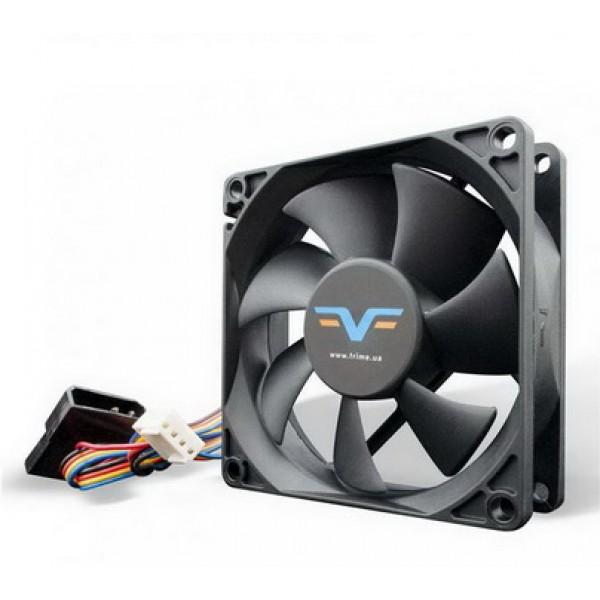 Вентилятор Frime (FF80252BBPWM) 80x80x25мм, 2Ball Bearing, Black - изображение 1