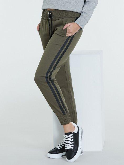 Спортивні штани Piazza Italia 38515-47602 S Sage (2038515002033) - зображення 1