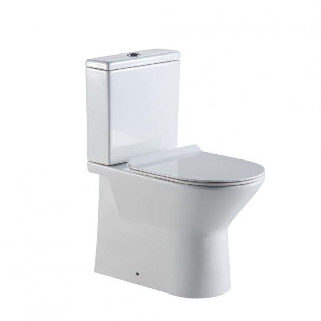 Унитаз-компакт SENSEA Compacta WC Pack Dual горизонтальный (12029444) - изображение 1