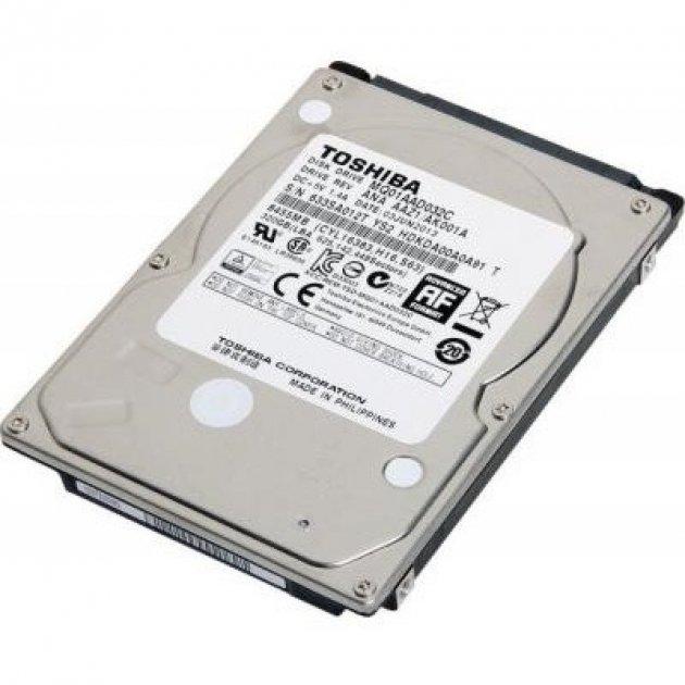Жорсткий диск (HDD) Toshiba SATA 200GB 8MB 4200rpm (MQ01AAD020C) - зображення 1