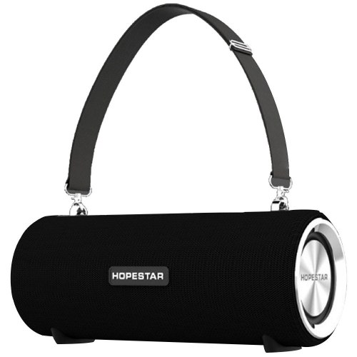 Портативна bluetooth колонка Hopestar H39 з вологозахистом Чорна - зображення 1