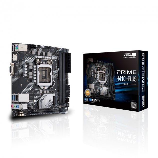 Материнская плата Asus Prime H410I-Plus/CSM Socket 1200 - зображення 1