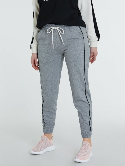 Спортивні штани Piazza Italia 38491-58055 M Grey Med (2038491003048) - зображення 1