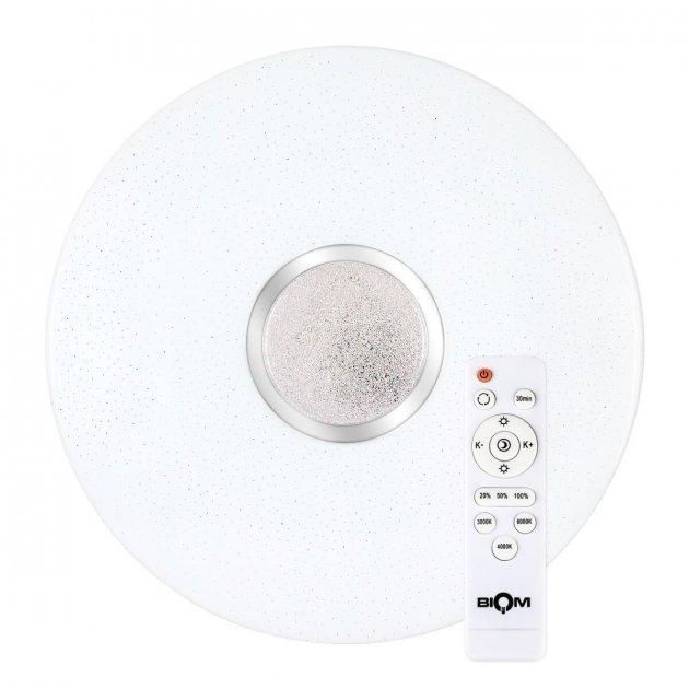 Світильник настінно-стельовий пластиковий вологозахищений Teb Elektrik Aqua Full Moon Opal з датчиком руху білий max 40Вт Е27 (400-213-115) - зображення 1