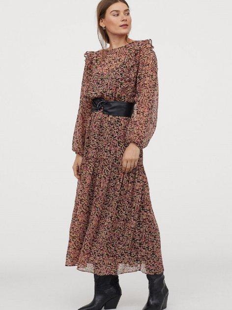 Платье H&M 0852370-1 M Черное (2000001795293) - изображение 1