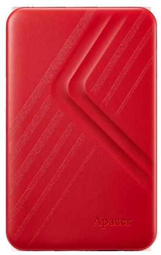 "Жесткий диск Apacer AC236 2TB 5400rpm 8MB AP2TBAC236R-1 2.5"" USB 3.1 External Red - изображение 1"
