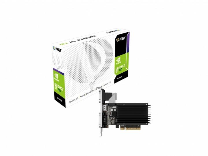 Palit GeForce GT 710 2Gb DDR3 (NEAT7100HD46-2080H) - изображение 1