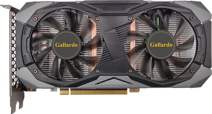 Manli PCI-Ex GeForce GTX 1660 Super Gallardo 6GB GDDR6 (192bit) (1530/14000) (DVI, HDMI, DisplayPort) (N5371660SM24364) - изображение 1