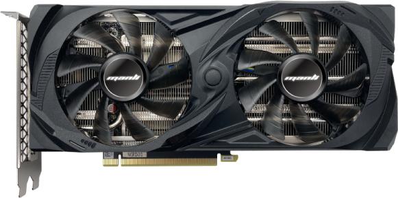 Manli PCI-Ex GeForce RTX 3060 Twin 12 GB GDDR6 (192 bit) (1320/15000) (HDMI, 3 х DisplayPort) (N63030600M2500) - зображення 1