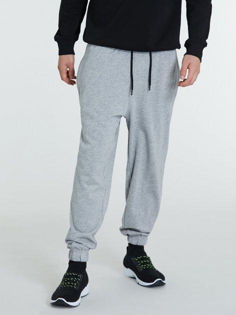 Спортивні штани Piazza Italia 39539-1655 M Grey melange (2039539003044) - зображення 1