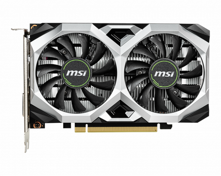 Видеокарта MSI VENTUS XS OC GeForce GTX 1650 4Gb GDDR6 128-bit (GTX 1650 D6 VENTUS XS OC) - изображение 1