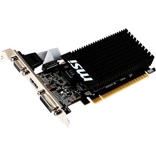 Видеокарта MSI GT 710 1Gb (GT 710 1GD3H LP) - изображение 1