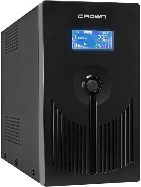 ДБЖ Crown CMU-SP800Euro LCD USB - зображення 1