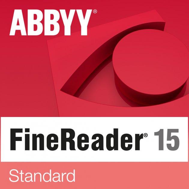 ABBYY FineReader 15 Standard. Корпоративна ліцензія на робоче місце (від 5 до 10) - зображення 1