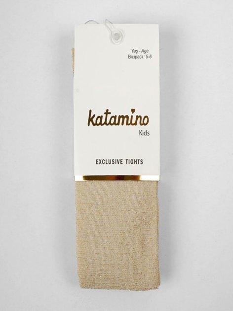 Колготки Katamino K62010 145-156 см Gold (8680652444494) - зображення 1