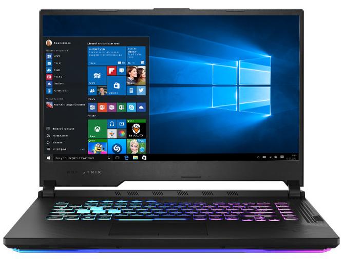 Ноутбук Asus ROG Strix G15 G512LW-ES76 Black Б/У - зображення 1