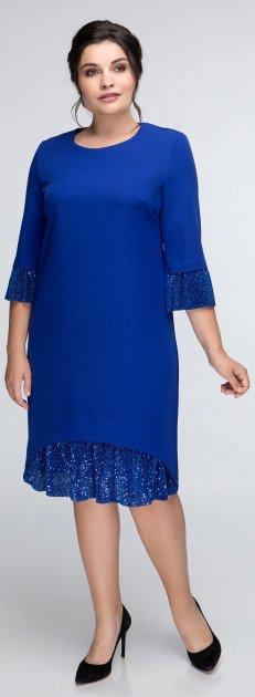 Платье All Posa Мила 1378-1 52 Электрик - изображение 1