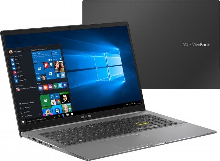 Ноутбук Asus VivoBook S S533EQ-BQ005T (90NB0SE3-M01140) Indie Black - изображение 1