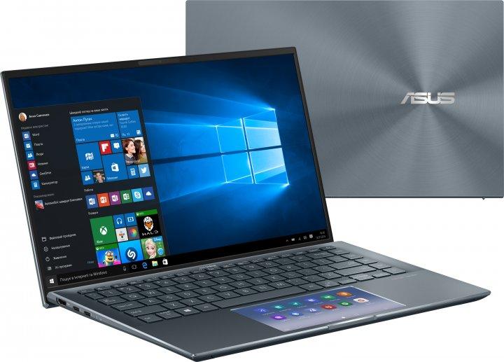 Ноутбук Asus ZenBook 14 UX435EG-A5038T (90NB0SI1-M01730) Pine Grey - изображение 1