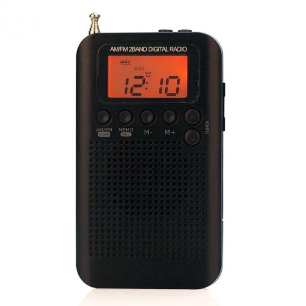 Радиоприемник HRD-104. Цифровой радиоприемник FM/AM - изображение 1