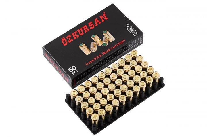 Холостые патроны Ozkursan 9 mm 50 шт - изображение 1