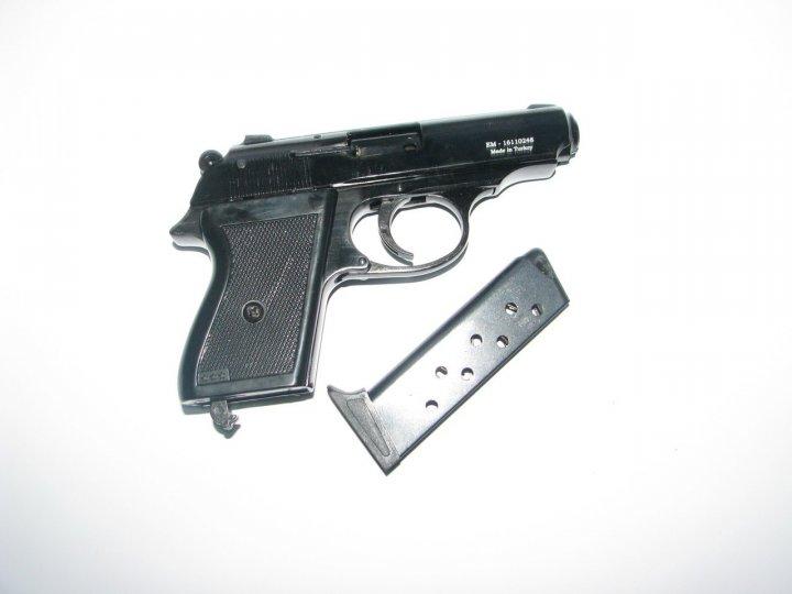 Пистолет стартовый EKOL MAJOROV черный - зображення 1