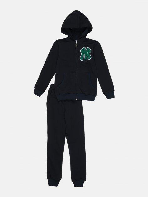 Спортивный костюм Interkids NY 1035 122 см Синий (4821221035017) - изображение 1
