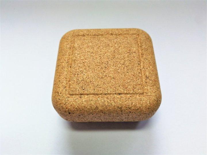 Коробка пробкова маленька 5.8 x5.8 см Ekora (СК38) - зображення 1