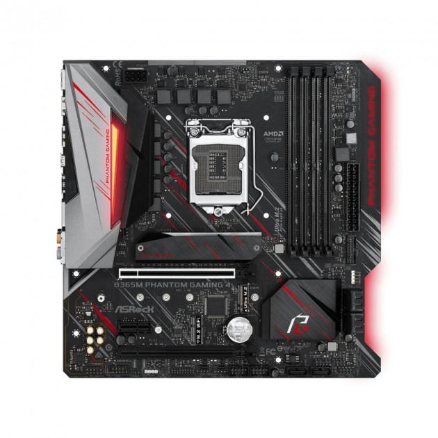 Материнская плата AsRock B365M Phantom Gaming 4 (s1151v2, Intel B365, PCI-Ex16) - изображение 1