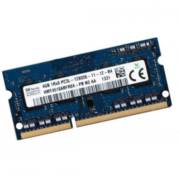 Модуль пам'яті для ноутбука SoDIMM DDR3L 4GB 1600 MHz Hynix (HMT451S6BFR8A-PB) - зображення 1