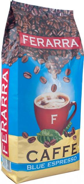 Кава в зернах Ferarra Blu Espresso 1 кг (4820198874100) - зображення 1