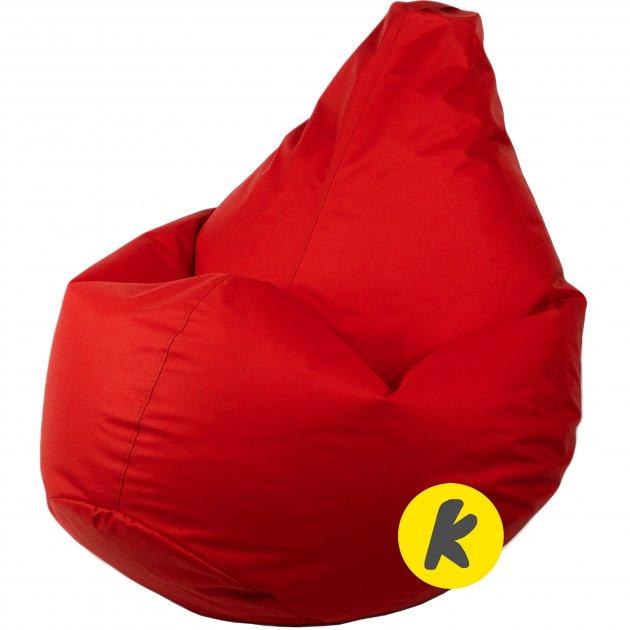 Кресло Груша Kmeshok 130/90 см Красный - зображення 1